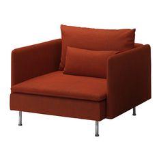 SÖDERHAMN Fåtölj - Isunda orange - IKEA