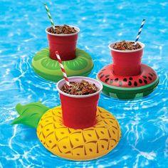 BigMouth Opblaasbare fruit bekerhouders (set van 3)