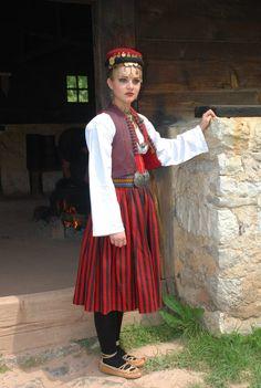 Folk costumes - serbia