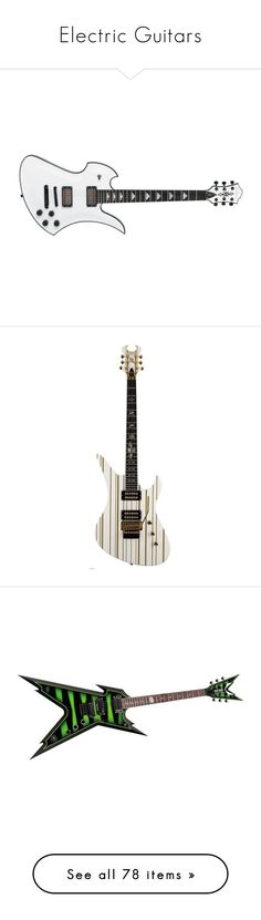 """""""Electric Guitars"""" by rukiakuchiki12341 ❤ liked on Polyvore featuring guitar, instruments, music instruments, guitars, accessories, music, other, musical instruments, avenged sevenfold and fillers"""