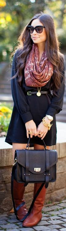 46 cute fall outfit - full details→ http://debbiefashiondesignblog.blogspot.com/2013/01/46-cute-fall-outfit.html