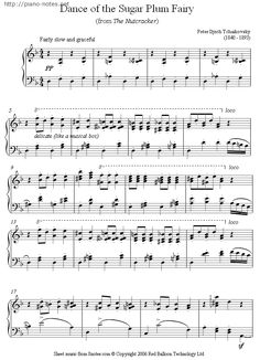 Tchaikovsky - Dance of the Sugar Plum Fairy from the Nutcracker sheet music for Piano Violin Sheet Music, Piano Music, Music Sheets, Piano Noten, Christmas Sheet Music, Music Jokes, Musica Pop, Free Piano, Piano Songs