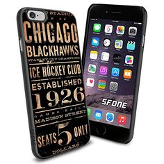 """NHL Chicago Blackhawks iPhone 6 4.7"""" Case Cover Protector for iPhone 6 TPU Rubber Case SHUMMA http://www.amazon.com/dp/B00WTW6XEO/ref=cm_sw_r_pi_dp_tinqvb1MXRWWD"""