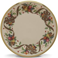 Holiday Tartan Dinner Plate by Lenox