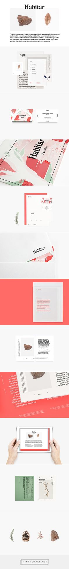 Habitar on Behance. - a grouped images picture Habitar on Behance Brand Identity Design, Stationery Design, Corporate Design, Graphic Design Typography, Branding Design, Corporate Branding, Self Branding, Branding Agency, Food Branding