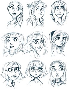 Log in cartoon sketches, cartoon styles, cartoon faces, art sketches, chara Character Design Cartoon, Cartoon Art Styles, Character Sketches, Character Design Animation, Character Design References, Character Art, Disney Character Drawings, Fantasy Character, Character Design Tutorial