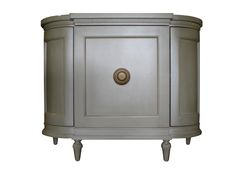 BRADLEY 'Melissa' Cabinet in Creme Pearlized wood finish