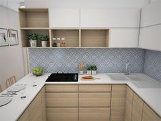 Corner Desk, Kitchen Cabinets, Furniture, Home Decor, Creative Flower Arrangements, Kitchens, Corner Table, Decoration Home, Room Decor