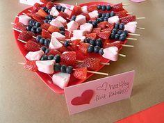 healthy valentine fruit kabobs