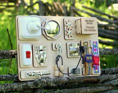 Handmade Montessori Busy Boards