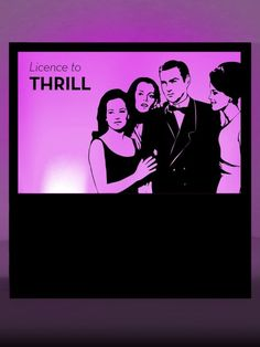 License to Thrill Silhouette Panel Prop   James Bond Party Theme   James Bond Party Theming Hire   Event Prop Hire