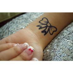 Bow tattoo <3