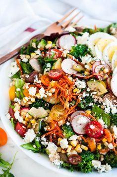 Loaded Chopped Veggie Salad