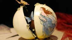 From the Salon du Chocolate show in Zurich, a chocolate egg made by France's Fleur de Xocoatl.