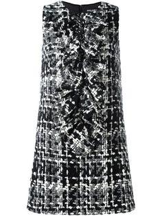 Dolce & Gabbana твидовое платье
