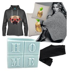 """""""At home"""" by amiraahmetovic ❤ liked on Polyvore featuring H&M"""