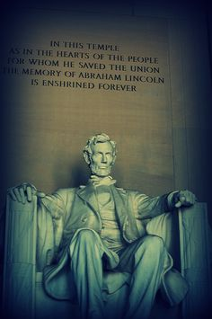 Lincoln Memorial...in my youth