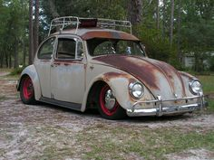 Stunning Photos Of Volkswagen Beetle Rat Rods With Patina Look On The Streets Vw Rat Rod, Kdf Wagen, Vw Classic, Classic Mercedes, Rat Look, Vw Vintage, Roadster, Vw Cars, Vw Beetles