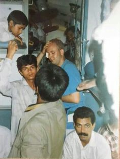 Kenneth har taget dette foto af mig i et indisk tog #1994 #indien #rejseminder #backpackerplanet