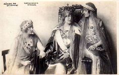 Queen Marie von Romania with her daughters Romanian Royal Family, Greek Royal Family, Princess Alexandra, Princess Beatrice, Princess Victoria, Queen Victoria, Maud Of Wales, Royal King, Royal Jewels