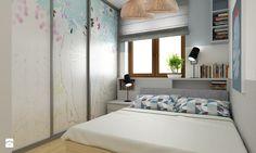 mieszkanie 35m2 pod wynajem - Sypialnia, styl skandynawski - zdjęcie od Grafika i Projekt architektura wnętrz