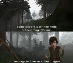 """How to Train your Dragon"" - Hiccup"