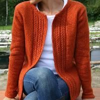 Casual Cardigan, I keep seeing this pattern pop up! Thinking I'm supposed to knit this!