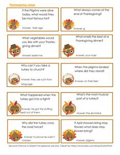 I'm sharing some Kids Thanksgiving Printables which are perfect to keep the kids busy whiler your cooking. Thanksgiving Jokes For Kids, Thanksgiving Note, Thanksgiving Blessings, Thanksgiving Traditions, Thanksgiving Parties, Thanksgiving Activities, Thanksgiving Appetizers, Thanksgiving Recipes, Thanksgiving Sayings