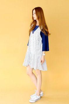 Jul Flared Dress | Korean Fashion