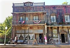 The 1880 Union Hotel in Los Alamos, Calif., was originally a stop for the stagecoach. It has 14 rooms and a saloon.