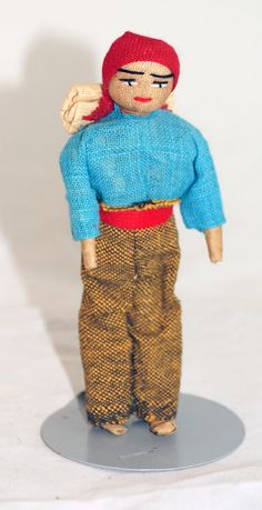Handsome Man from Ecuador doll from the 1980s by UniqueWorldDolls