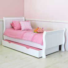 Sassy Sleigh Bed - 107cm + Under Bed R7899.00