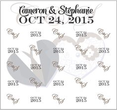 Cameron & Stephanie Step and Repeat Banner 19916 | www.sign11.com