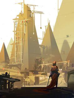 Pyramid Lord [30 minutes] - Nicolas Bouvier :: www.sparth.com