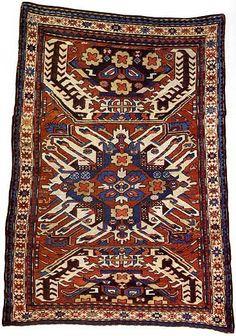 Armenian rug, Artsakh. 1860