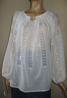 Tailored Shirts, Tunic Tops, Embroidery, Wool, Clothes For Women, Detail, Sewing, Lace, Pattern