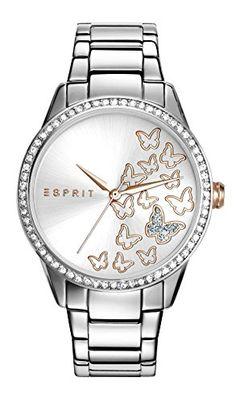Esprit-Damen-Armbanduhr-TP10908-Silver-Analog-Quarz-Edelstahl-ES109082005
