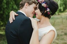 Dried flower crown Image by Melissa Mills Photography
