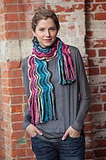 Ravelry: Colorplay Crochet Scarf pattern by Kristin Omdahl