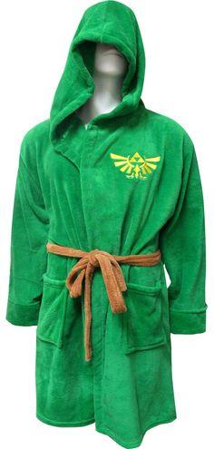 WebUndies.com Nintendo The Legend of Zelda Dress Like Link Hooded Robe