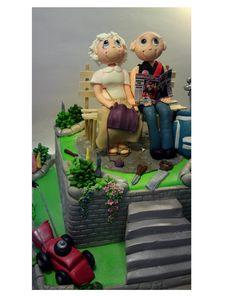 https://flic.kr/p/cWeqBY | GARDENERS  CREATIVE CAKE ART CAKE TOPPERS  FIGURINES