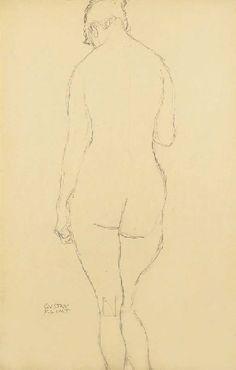 Artworks of Gustav Klimt (Austrian, 1862-1918)