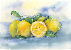Poster Zitronen