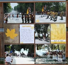 Scrapbook and Cards Today shared my pocket page on their blog on Canada Day using the Color Theory Memories and More card pack. Also used the Labeler Alphabet for the title.
