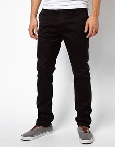 Image 1 ofDiesel Chinos Chi Tight E Slim Fit Washed