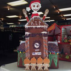 Titan Shops Staff Gingerbread Competition 2015 #TitanShops #CSUF #Gingerbread #Holidays #GingerbreadStructureContest