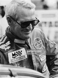 American actor Paul Newman comes in at second place in the 24-hour Le Mans sports car race.