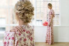 Bohemian Floral Print Bridesmaids Dress With PANDORA Jewellery | #bridesmaid #fashion #PANDORA #jewelley #gifts