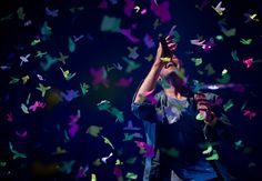 Coldplay performs live during the Glastonbury Festival, on June 25, 2011. (Ian Gavan/Getty Images)