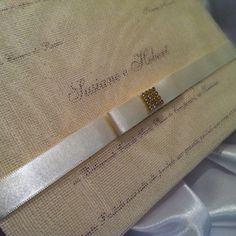 luxo!  Vintage!    Convite com os tags dos nomes, e os cartões individuais(em dobro do numero dos convites encomendados)  Fita na cor a sua escolha! R$ 5,95